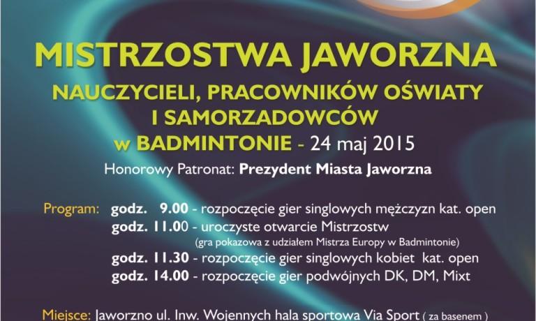 Oficjalny plakat Mistrzostw