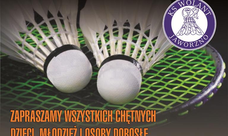 Zagraj z nami w badmintona
