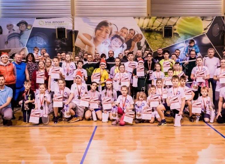 Mikołajkowy Turniej Badmintona 2018