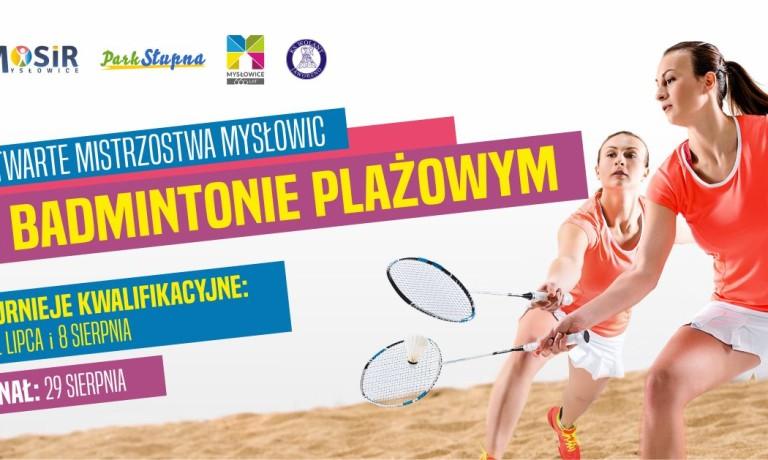 Badminton na piasku ponownie w Mysłowicach